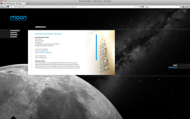 Moon Website 2